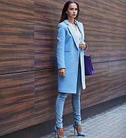 Пальто женское кашемировое весна осень 23995, фото 1