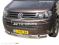 Защитная дуга двойная VW Transporter T5+