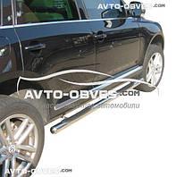 Защитные дуги боковые для VolksWagen Touareg 2010-2017