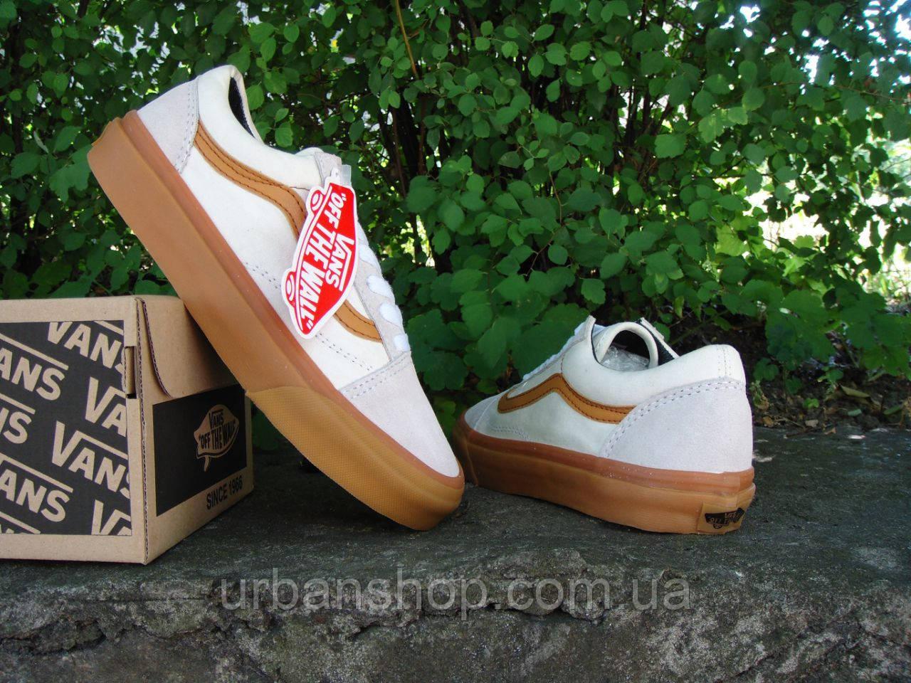 Кеды Vans Old Skool White 36-45 рр