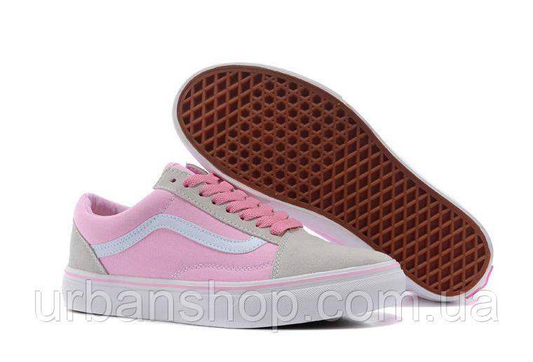 Кеди Vans Old Skool Pink  -40 рр