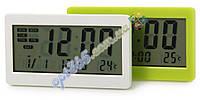 Термометр с часами DC-208