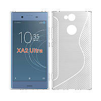 Силиконовый чехол Duotone для Sony Xperia XA2 Ultra (2 цвета)