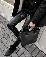 Лосины женские кожаные 23997, фото 1