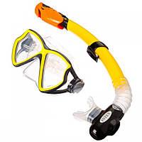 Набор для плавания Intex 55960 SILICONE AVIATOR PRO Маска + Трубка
