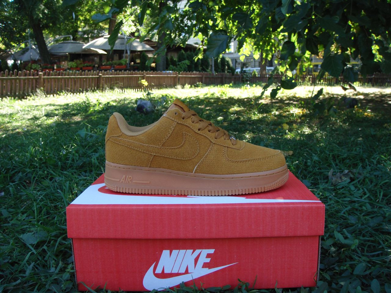 Кроссовки Nike Air Force Brown Suede Low 40-45 рр