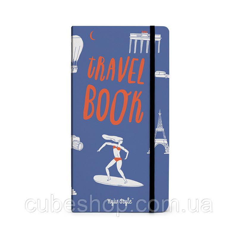 Блокнот TravelBook (синий)
