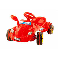 """Машина педальная """"Молния"""" № 09-903 красная,детская машинка,машинка-каталка"""