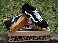 Зимние кеды VANS Old Skool GUM black р.40-45