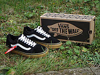 Зимові Кеди VANS Old Skool GUM black р.40-45