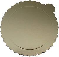 Подложка под торт Ø160 мм золото (1уп =20шт)