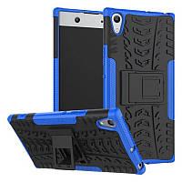 Чехол противоударный для Sony Xperia XA1 Ultra / G3212 бампер синий