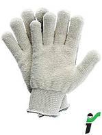 Перчатки защитные трикотажные термостойкие RJ-BAFRO -  8, 10