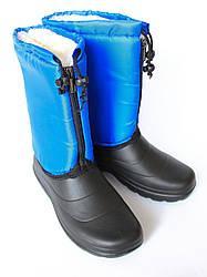 Женские сапоги утепленные на меху от украинского производителя оптом