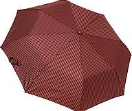 Мужской зонт складной полуавтомат (бордо)