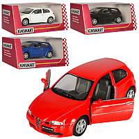 "Машинка «Kinsmart» KT 5085 W ""Alfa Romeo 147 GTA"""