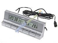 Часы в авто VST 7037