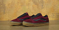 Зимние кеды VANS Old Skool bordo р.40-45, фото 1