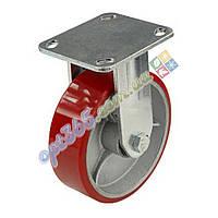 Полиуретановое колесо на кронштейне 150 мм