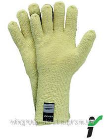 Перчатки защитные трикотажные термостойкие RJ-KEFRO35 - 8
