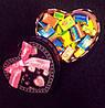 Подарок для любимых Love is 100 шт. в подарочной коробке