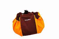 Сумка коврик для игрушек SteepBag оранжевая маленькая , фото 1