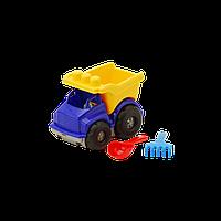 Машина Тотошка самосвал №1 арт. 0169, игрушечная машинка, грузовик, игрушка, грабельки, лопатка