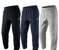Спортивные штаны с резинкой внизу найк,nike