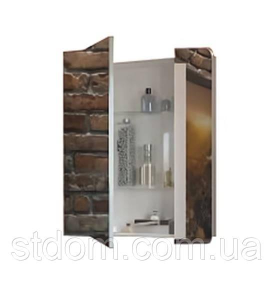 Зеркало Аква Родос Рома 70 см белая