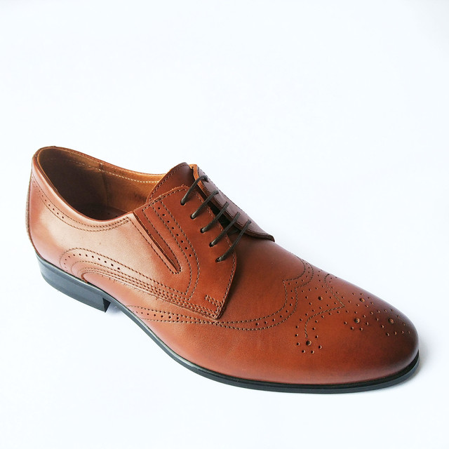 Лучшая обувь Ikos коричневого цвета в стиле броги
