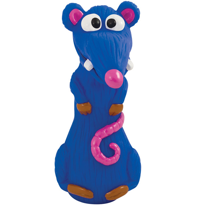 Petstages Lil Kooky Rat - Крыска с розовым носом - игрушка для собак