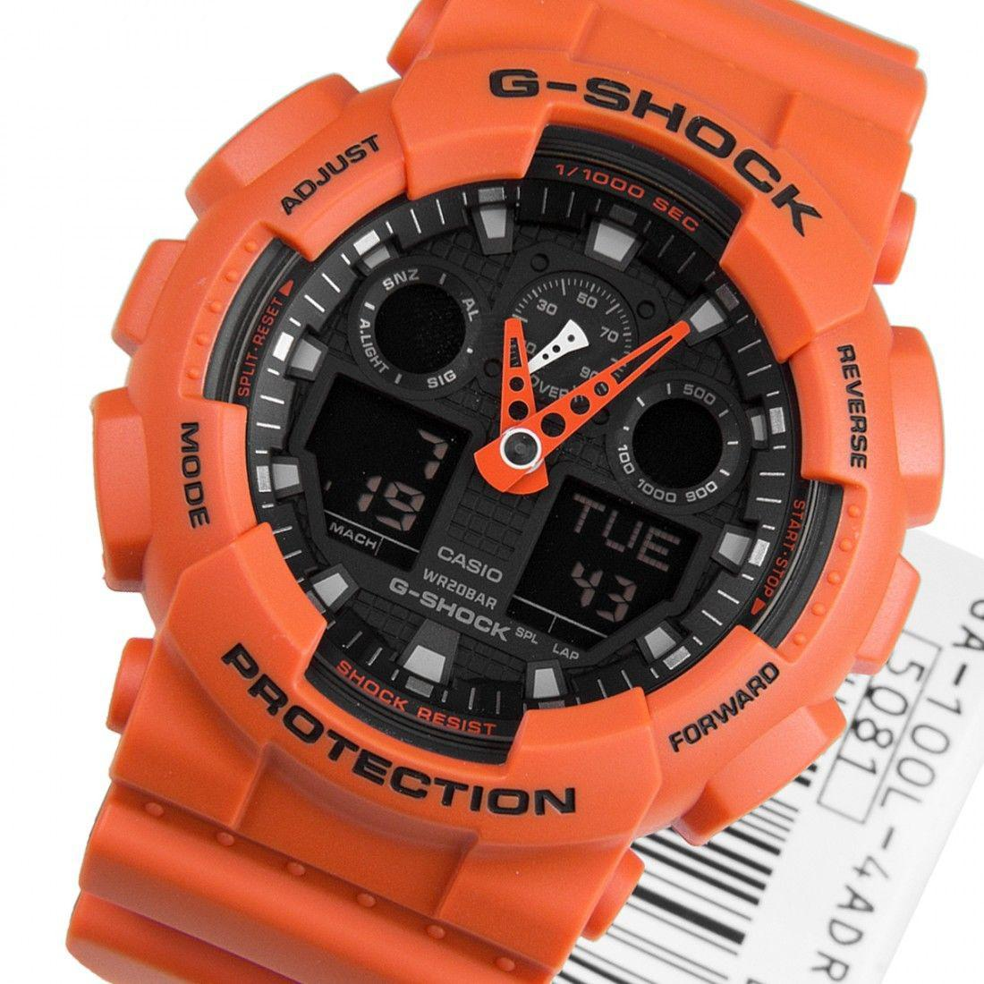 Часы Casio G-Shock GA-100L-4A В.