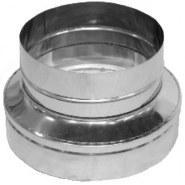 Перехід для димоходу з різними діаметрами