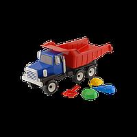 Машина Урал классик №2 арт. 0077, игрушечная машинка, грузовик, игрушка, пасочки, лопатки