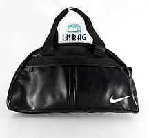 Спортивная сумка Nike реплика черного цвета