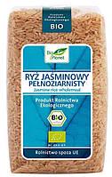 Органический рис жасмин цельнозерновой (коричневый), Bio Planet, 500 гр
