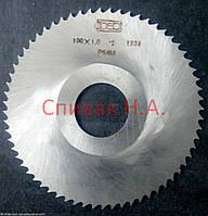 Фреза дисковая 100 х 1,0