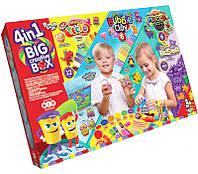 Набор для творчества Big Creatve Box, 4в1, Danko Toys