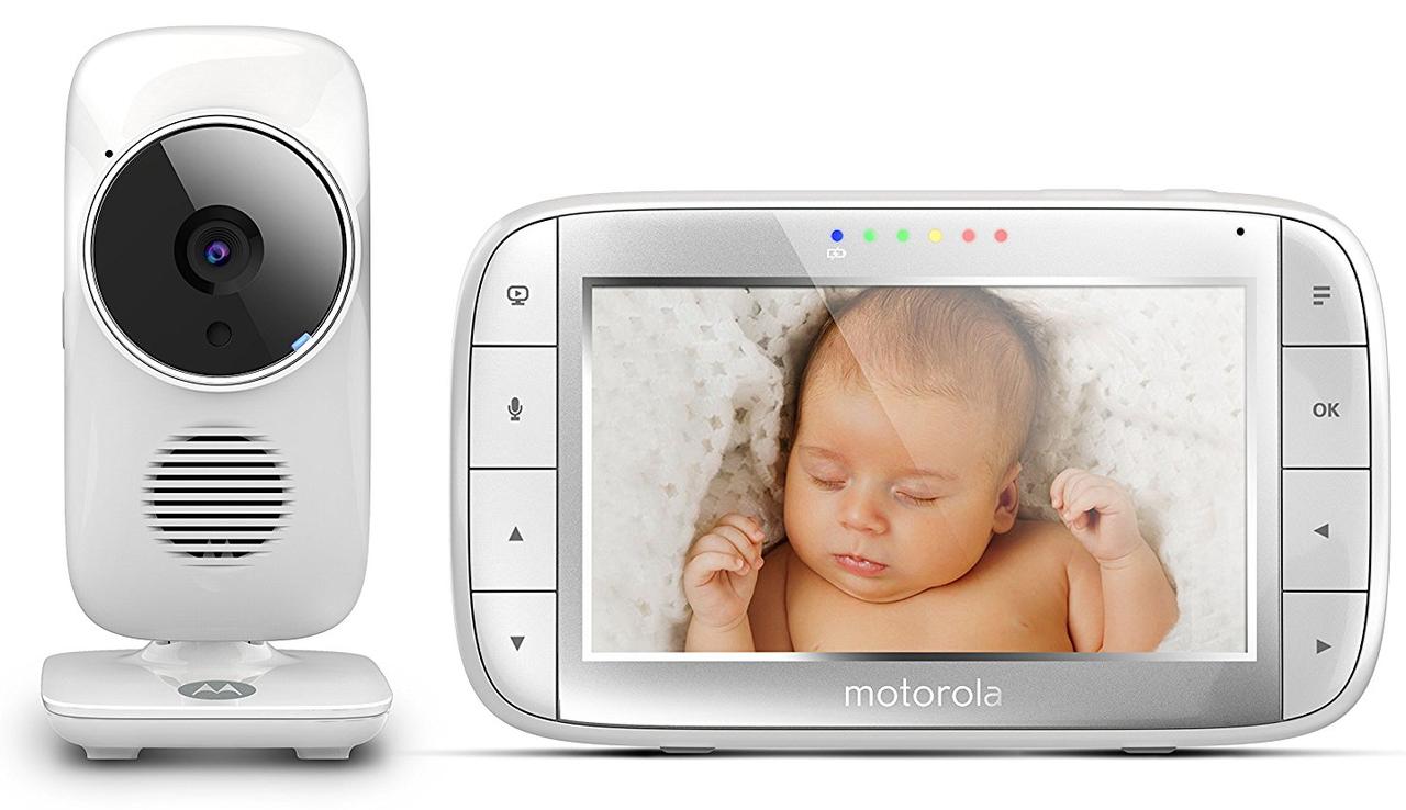 Wi-Fi видеоняня Motorola MBP844 Connect, с диагональю5 дюймов