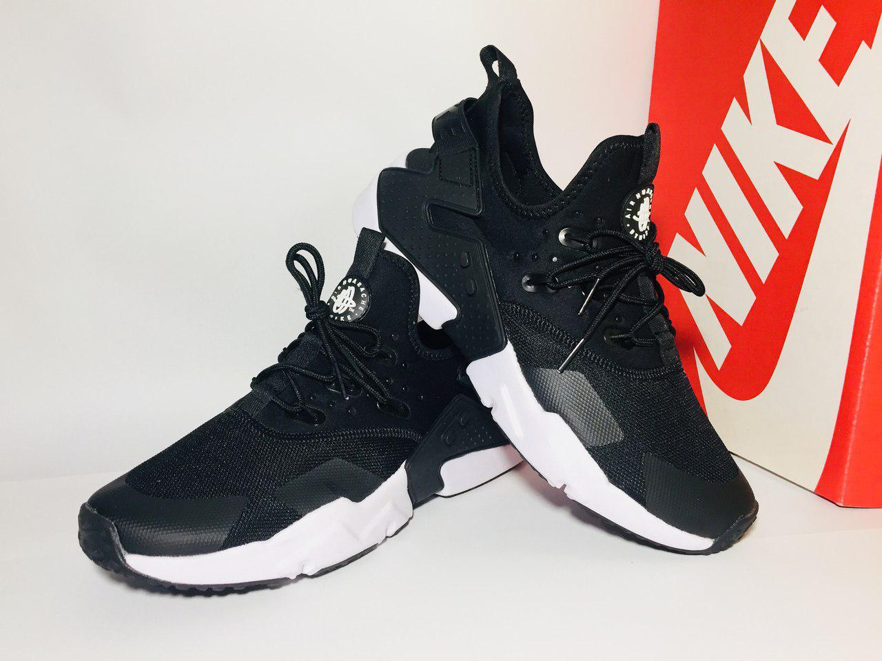 030277a8 Мужские кроссовки Nike Air Huarache Black 2018(ТОП РЕПЛИКА ААА+): ...