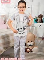 Детские пижамы футболка брюки для девочек