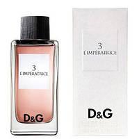 Женская туалетная вода Dolce & Gabbana 3 L`Imperatrice (Дольче Габбана 3 Императрица) 100 мл