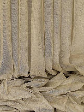 """Тюль """"Французкий гипюр"""" Беж 300х270 Декор Текстиль (Арт.25074) , фото 2"""