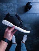 Мужские кроссовки Найк Nike (реплика) Air Jordan Eclipse чёрно-белые