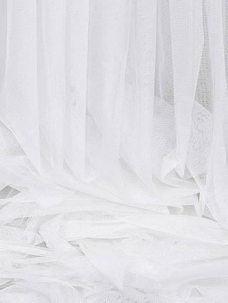 "Тюль ""Французкий гипюр"" Белый 600х270 Декор Текстиль (Арт.25058), фото 2"