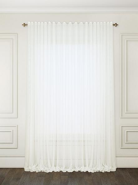 "Тюль ""Французкий гипюр"" Белый 600х270 Декор Текстиль (Арт.25058)"