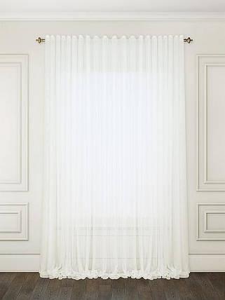"Тюль ""Французкий гипюр"" Белый 500х270 Декор Текстиль (Арт.25057), фото 2"