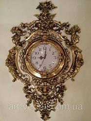 Часы настенные бронзовые Rimlyan (670х440х50 мм) [Бронза, Под стеклом]