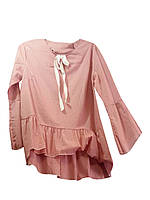 Женские блузки с рюшами