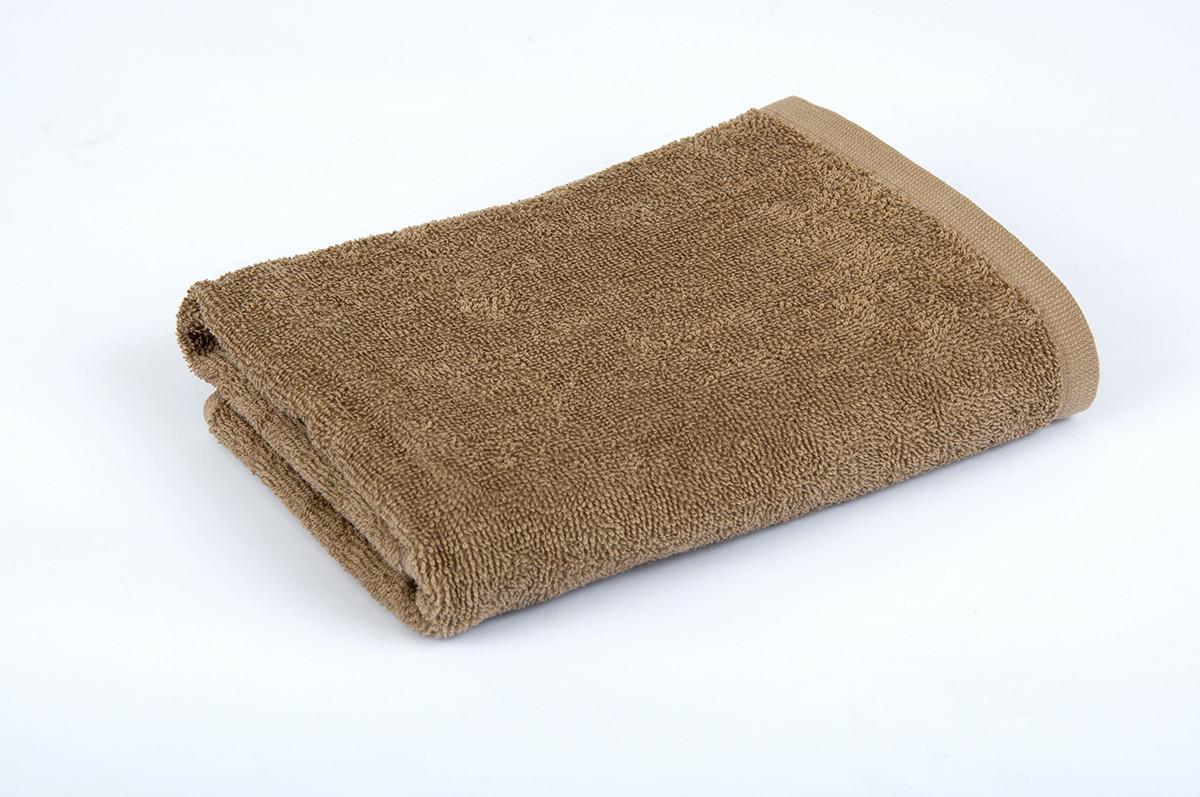 Полотенце махровое 70х140см Кофе 420гр Lotus